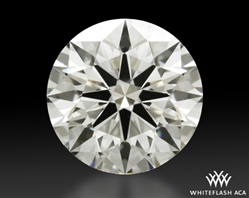 1.201 ct I VS2 A CUT ABOVE® Hearts and Arrows Super Ideal Round Cut Loose Diamond