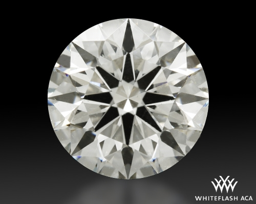 1.316 ct I SI1 A CUT ABOVE® Hearts and Arrows Super Ideal Round Cut Loose Diamond