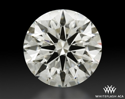 2.246 ct H SI1 A CUT ABOVE® Hearts and Arrows Super Ideal Round Cut Loose Diamond