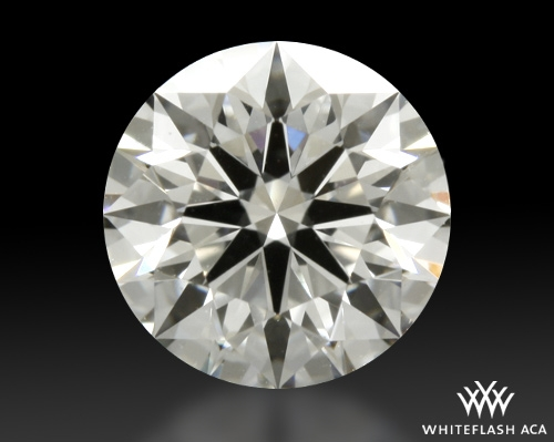 0.713 ct G VS2 A CUT ABOVE® Hearts and Arrows Super Ideal Round Cut Loose Diamond
