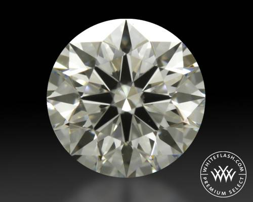 0.335 ct J VVS2 Premium Select Round Cut Loose Diamond