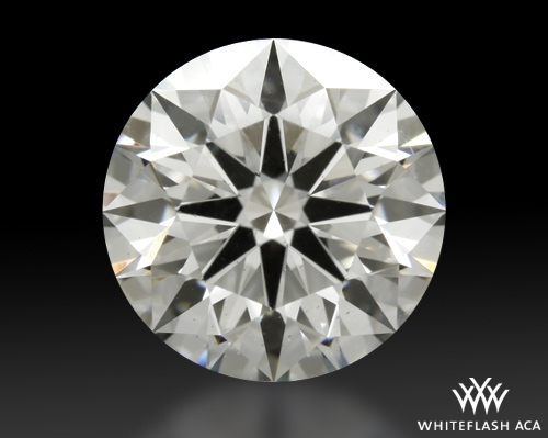 1.713 ct H SI1 A CUT ABOVE® Hearts and Arrows Super Ideal Round Cut Loose Diamond