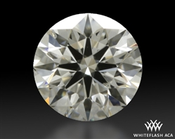 0.334 ct I SI1 A CUT ABOVE® Hearts and Arrows Super Ideal Round Cut Loose Diamond