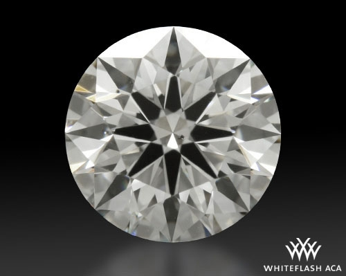 0.665 ct I SI1 A CUT ABOVE® Hearts and Arrows Super Ideal Round Cut Loose Diamond