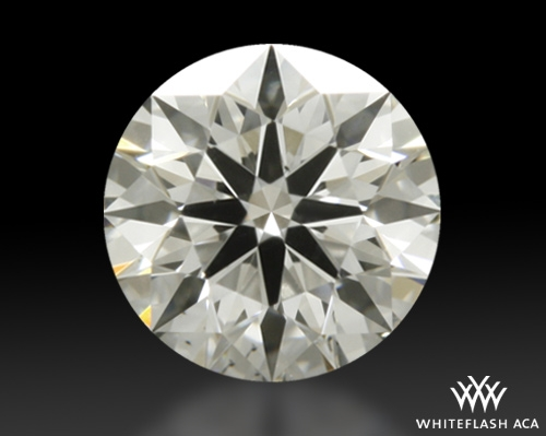 0.334 ct H VS2 A CUT ABOVE® Hearts and Arrows Super Ideal Round Cut Loose Diamond