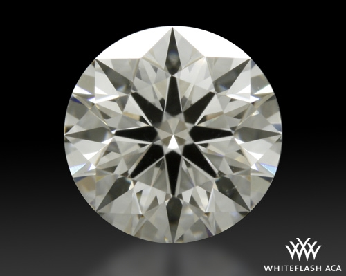 0.635 ct F SI1 A CUT ABOVE® Hearts and Arrows Super Ideal Round Cut Loose Diamond