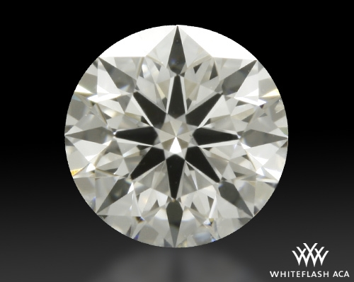 0.413 ct H SI1 A CUT ABOVE® Hearts and Arrows Super Ideal Round Cut Loose Diamond