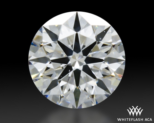 0.347 ct E SI1 A CUT ABOVE® Hearts and Arrows Super Ideal Round Cut Loose Diamond