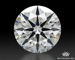 0.347 ct E SI1 A CUT ABOVE® Hearts and Arrows Super Ideal Round Cut Loose Diamond