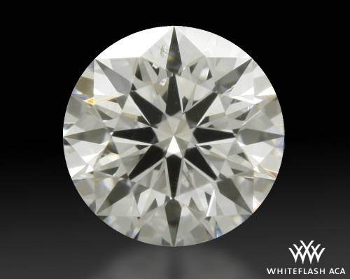 0.318 ct D SI1 A CUT ABOVE® Hearts and Arrows Super Ideal Round Cut Loose Diamond