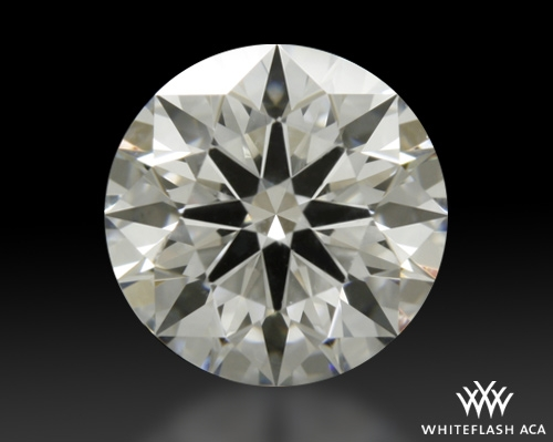 0.758 ct F VS1 A CUT ABOVE® Hearts and Arrows Super Ideal Round Cut Loose Diamond