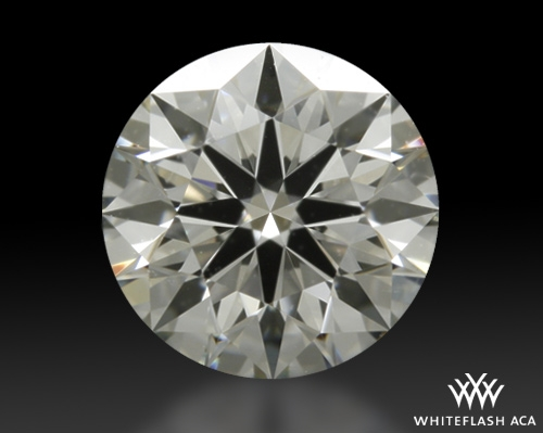 0.607 ct J VS2 A CUT ABOVE® Hearts and Arrows Super Ideal Round Cut Loose Diamond