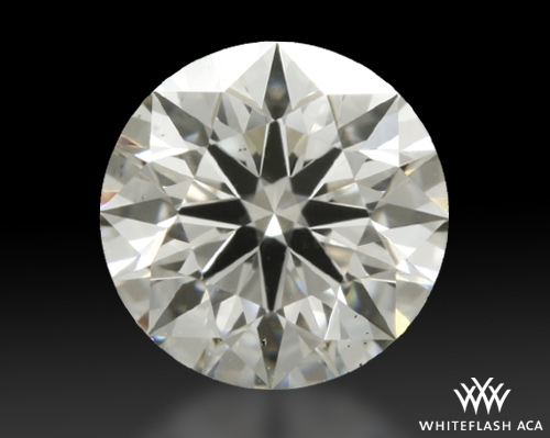 0.44 ct I VS2 A CUT ABOVE® Hearts and Arrows Super Ideal Round Cut Loose Diamond