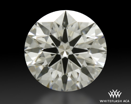 0.513 ct G SI1 A CUT ABOVE® Hearts and Arrows Super Ideal Round Cut Loose Diamond