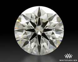 0.758 ct D VS1 A CUT ABOVE® Hearts and Arrows Super Ideal Round Cut Loose Diamond