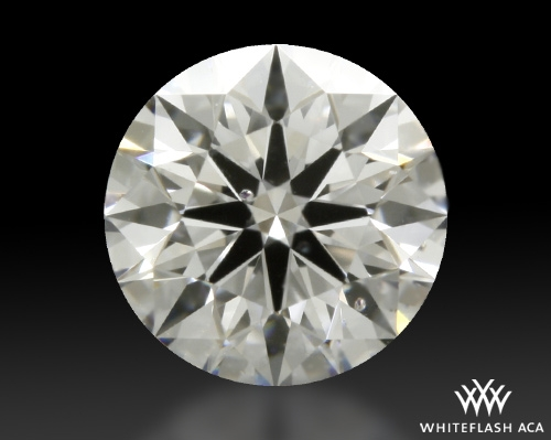 0.423 ct D SI1 A CUT ABOVE® Hearts and Arrows Super Ideal Round Cut Loose Diamond