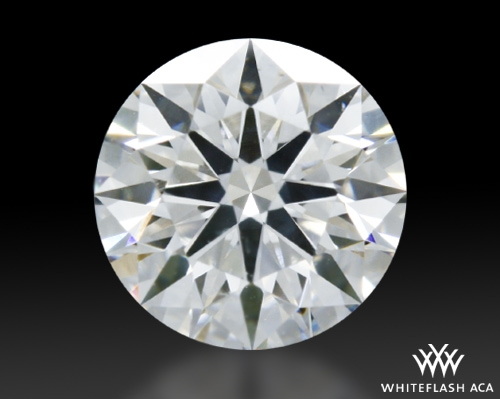 0.602 ct E SI1 A CUT ABOVE® Hearts and Arrows Super Ideal Round Cut Loose Diamond