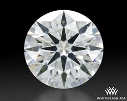 0.602 ct E SI1 A CUT ABOVE® Hearts and Arrows Super Ideal Round Cut Loose Diamond