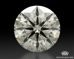 0.511 ct J SI1 A CUT ABOVE® Hearts and Arrows Super Ideal Round Cut Loose Diamond