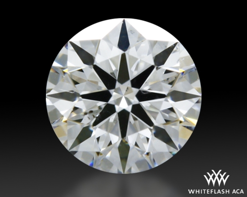 0.364 ct E SI1 A CUT ABOVE® Hearts and Arrows Super Ideal Round Cut Loose Diamond