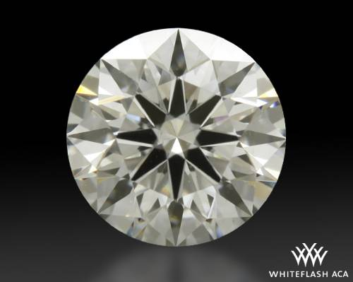 0.645 ct J VS2 A CUT ABOVE® Hearts and Arrows Super Ideal Round Cut Loose Diamond