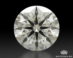 0.524 ct H VS2 A CUT ABOVE® Hearts and Arrows Super Ideal Round Cut Loose Diamond