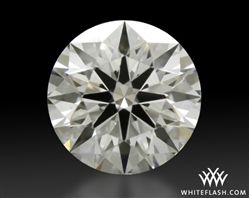 0.755 ct F VS2 A CUT ABOVE® Hearts and Arrows Super Ideal Round Cut Loose Diamond
