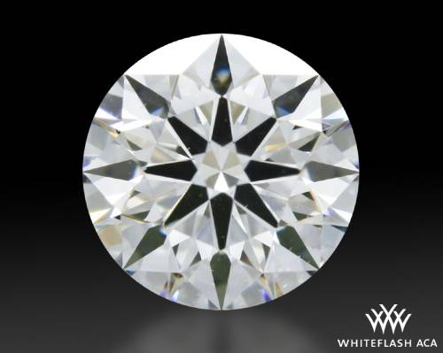 0.608 ct E SI1 A CUT ABOVE® Hearts and Arrows Super Ideal Round Cut Loose Diamond