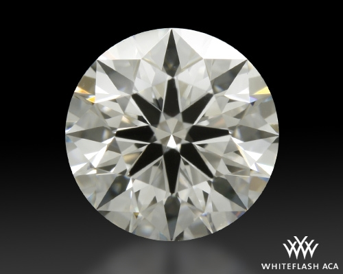 0.808 ct F VS1 A CUT ABOVE® Hearts and Arrows Super Ideal Round Cut Loose Diamond