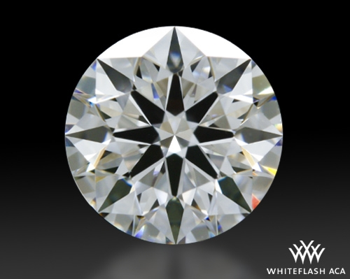 0.806 ct D VVS1 A CUT ABOVE® Hearts and Arrows Super Ideal Round Cut Loose Diamond