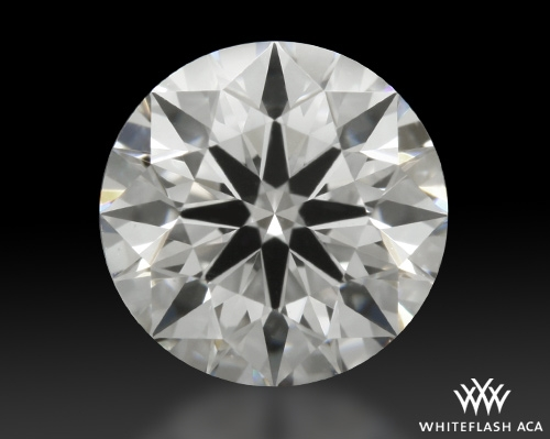 0.808 ct E VS1 A CUT ABOVE® Hearts and Arrows Super Ideal Round Cut Loose Diamond