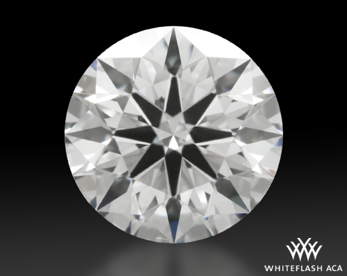 0.818 ct E VS1 A CUT ABOVE® Hearts and Arrows Super Ideal Round Cut Loose Diamond
