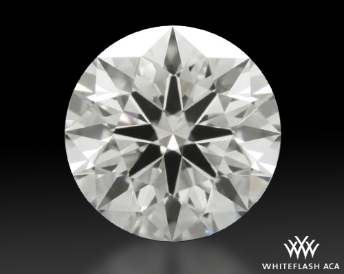 0.831 ct F VS1 A CUT ABOVE® Hearts and Arrows Super Ideal Round Cut Loose Diamond