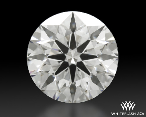 0.834 ct E VS2 A CUT ABOVE® Hearts and Arrows Super Ideal Round Cut Loose Diamond
