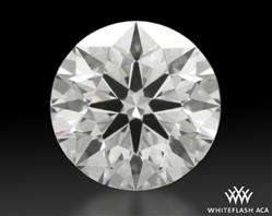 0.834 ct E VS2 A CUT ABOVE® Hearts and Arrows Super Ideal Round Cut Loose Diamond