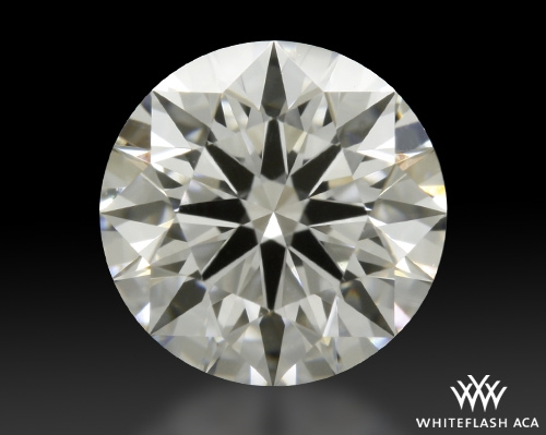 0.841 ct D VVS1 A CUT ABOVE® Hearts and Arrows Super Ideal Round Cut Loose Diamond