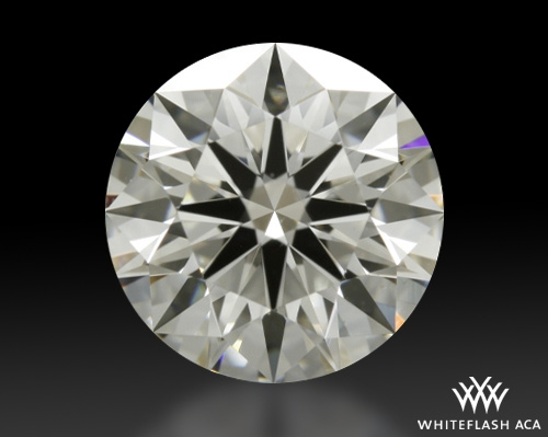 1.287 ct G VS2 A CUT ABOVE® Hearts and Arrows Super Ideal Round Cut Loose Diamond