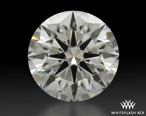 0.903 ct G SI1 A CUT ABOVE® Hearts and Arrows Super Ideal Round Cut Loose Diamond