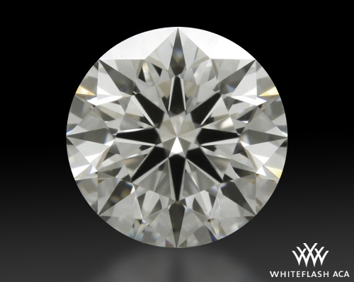 0.95 ct G SI1 A CUT ABOVE® Hearts and Arrows Super Ideal Round Cut Loose Diamond