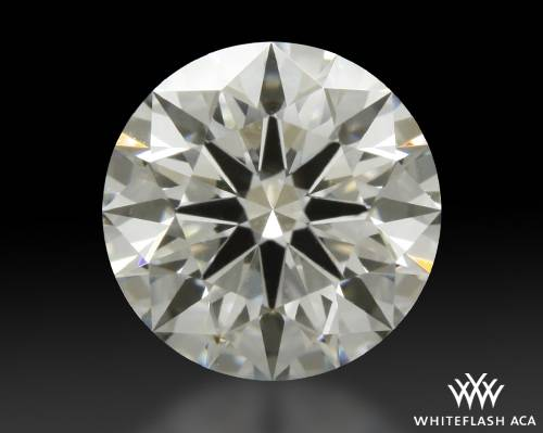 0.915 ct I VS1 A CUT ABOVE® Hearts and Arrows Super Ideal Round Cut Loose Diamond