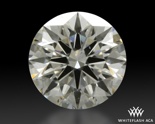 0.811 ct H SI1 A CUT ABOVE® Hearts and Arrows Super Ideal Round Cut Loose Diamond