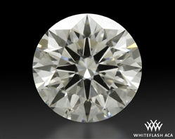1.105 ct G VS1 A CUT ABOVE® Hearts and Arrows Super Ideal Round Cut Loose Diamond