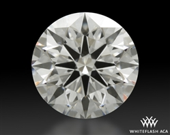 1.091 ct F VS1 A CUT ABOVE® Hearts and Arrows Super Ideal Round Cut Loose Diamond