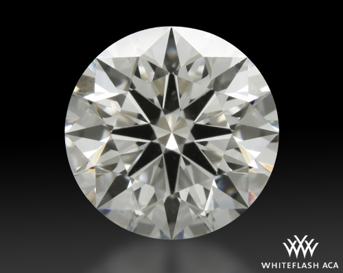 1.131 ct G VS1 A CUT ABOVE® Hearts and Arrows Super Ideal Round Cut Loose Diamond