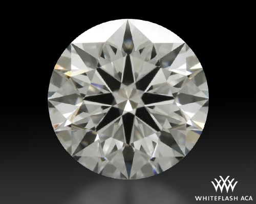 1.117 ct G VS1 A CUT ABOVE® Hearts and Arrows Super Ideal Round Cut Loose Diamond