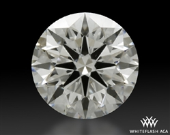 1.018 ct F VS2 A CUT ABOVE® Hearts and Arrows Super Ideal Round Cut Loose Diamond