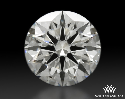 1.008 ct G VS1 A CUT ABOVE® Hearts and Arrows Super Ideal Round Cut Loose Diamond