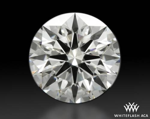 1.017 ct G SI1 A CUT ABOVE® Hearts and Arrows Super Ideal Round Cut Loose Diamond