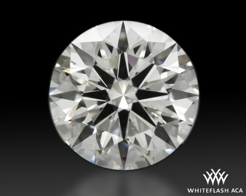 1.002 ct G SI1 A CUT ABOVE® Hearts and Arrows Super Ideal Round Cut Loose Diamond