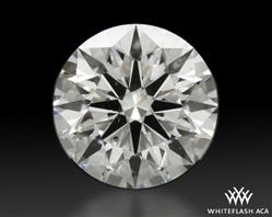 1.007 ct G SI1 A CUT ABOVE® Hearts and Arrows Super Ideal Round Cut Loose Diamond